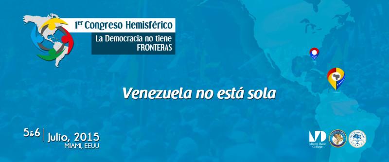 FFORO LA DEMOCRACIA NO TIENE FRONTERAS