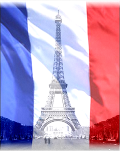 Flag-Eiffeltower