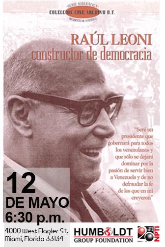 Raul Leoni mayo 12